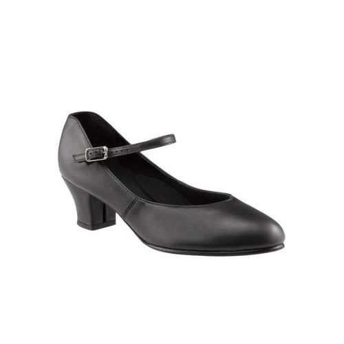 551 Capezio Leather Jr. Footlight Cuban Heel