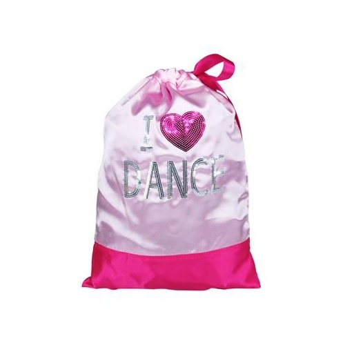 JHO-207A1 I Love Dance Shoe Bag - PPK