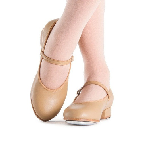 S0302L Bloch Tap On Low Heel Tap Shoe - Adults