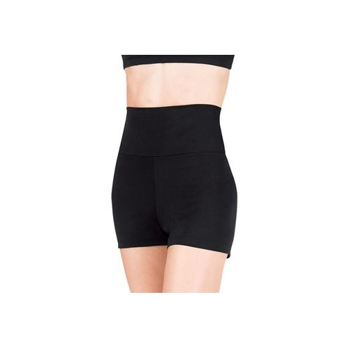 TB131 Capezio High Waisted Short - BLK - XS