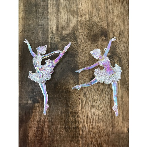 Irridescent Luxe Ballerina Ornament