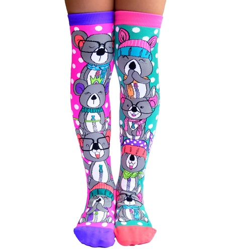 Mad Mia Koala Knee High Socks