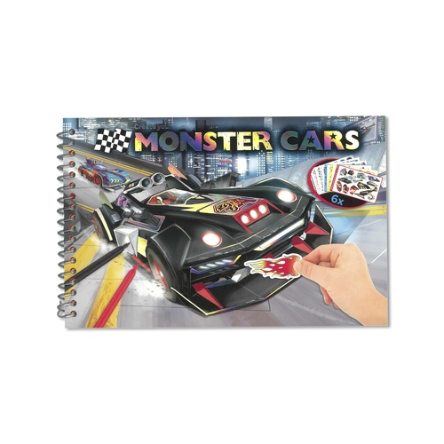 Monster Car Pocket Book