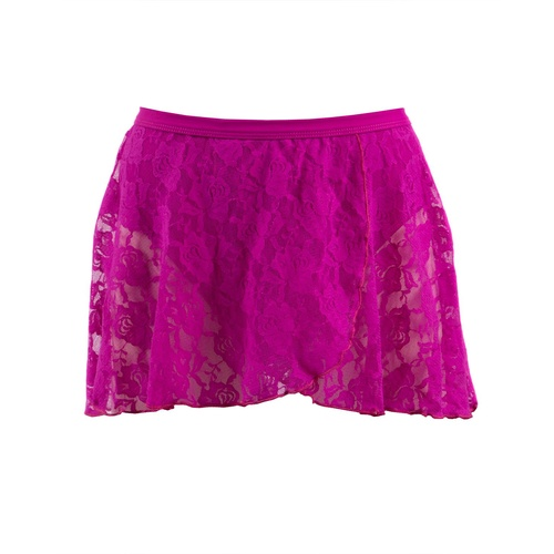 AS37 Energetiks Mock Lace Wrap Skirt