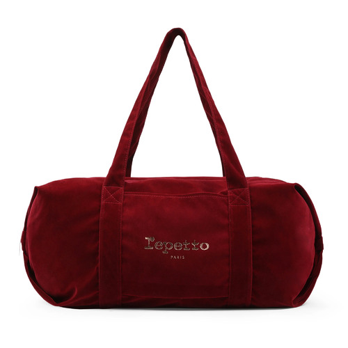 B0233V Repetto Limited Edition Velvet Big Glide Duffle Bag