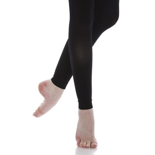 CT29 Energetiks Classic Footless Tights - BLK - MED