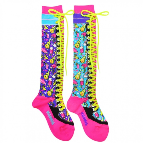 Madmia Flamingo Socks - MLT - OS
