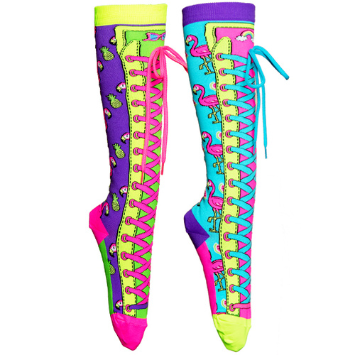 Madmia Fruity Flamingo Socks - MLT - OS