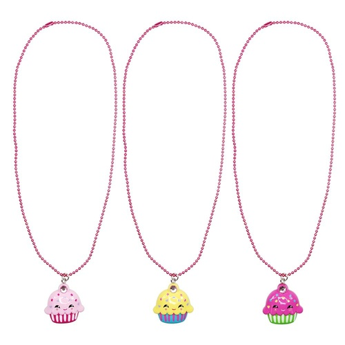 NCG112 Resin Cupcake Gem Necklace