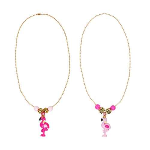 NCG130 Pink Flamingo Necklace