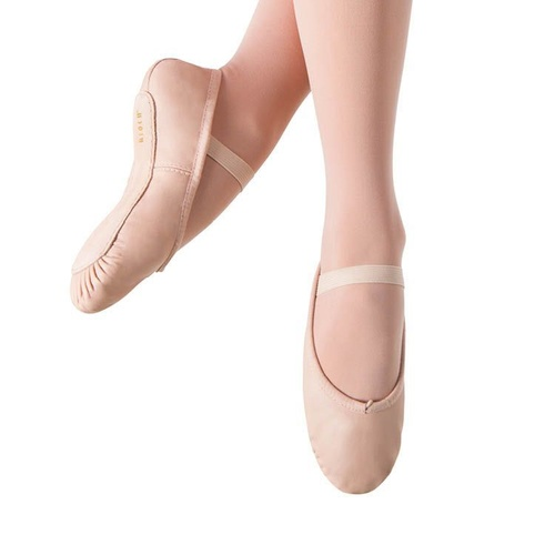 S0205L Bloch Dansoft Leather Full Sole Ballet Shoe - Adults