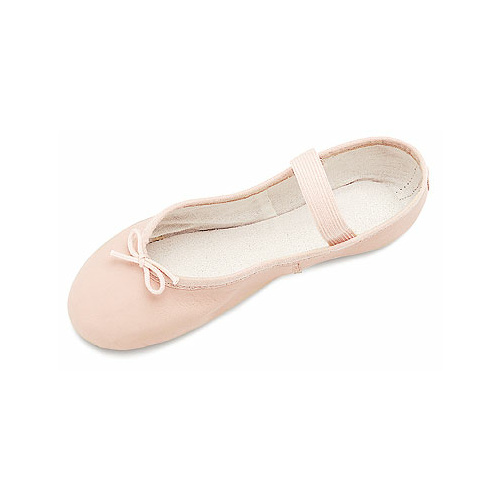 S0205P Bloch Dansoft Leather Full Sole Ballet Shoe - Petite