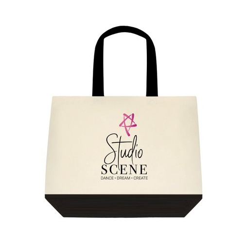 Studio Scene Canvas Two Tone Tote