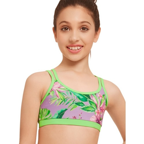 TPTCR132 Strut Stuff Tropical Crop Top